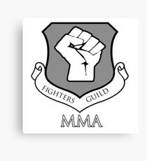 Fighters Guild MMA Canvas Print