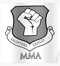 Fighters Guild MMA Poster
