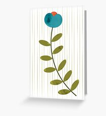 Winter Floral Greeting Card