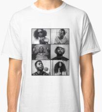 TDE - Kendrick, Ab-soul, Q, Jay Rock, Isaiah, SZA  Classic T-Shirt