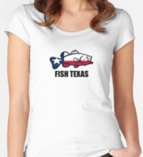 Fish Texas Women's Fitted Scoop T-Shirt