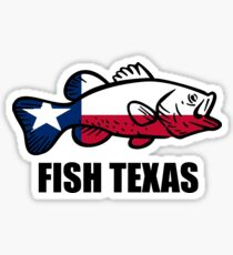 Fish Texas Sticker