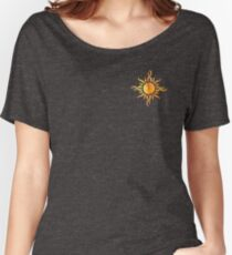 Watercolor Sun Women's Relaxed Fit T-Shirt