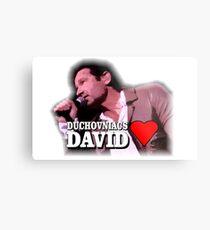 Duchovniacs Love David Metal Print