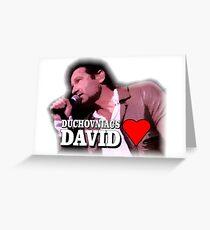 Duchovniacs Love David Greeting Card