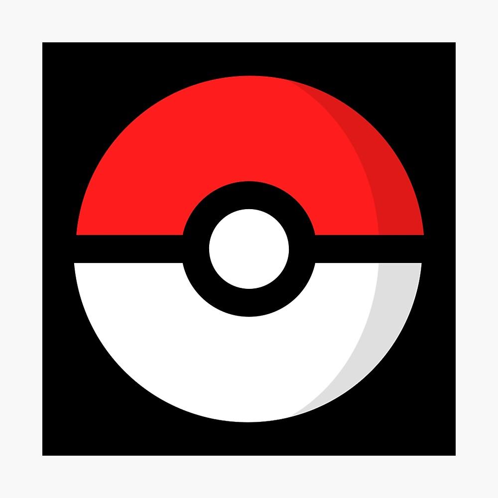 Pokémon - Pokébola Lámina fotográfica