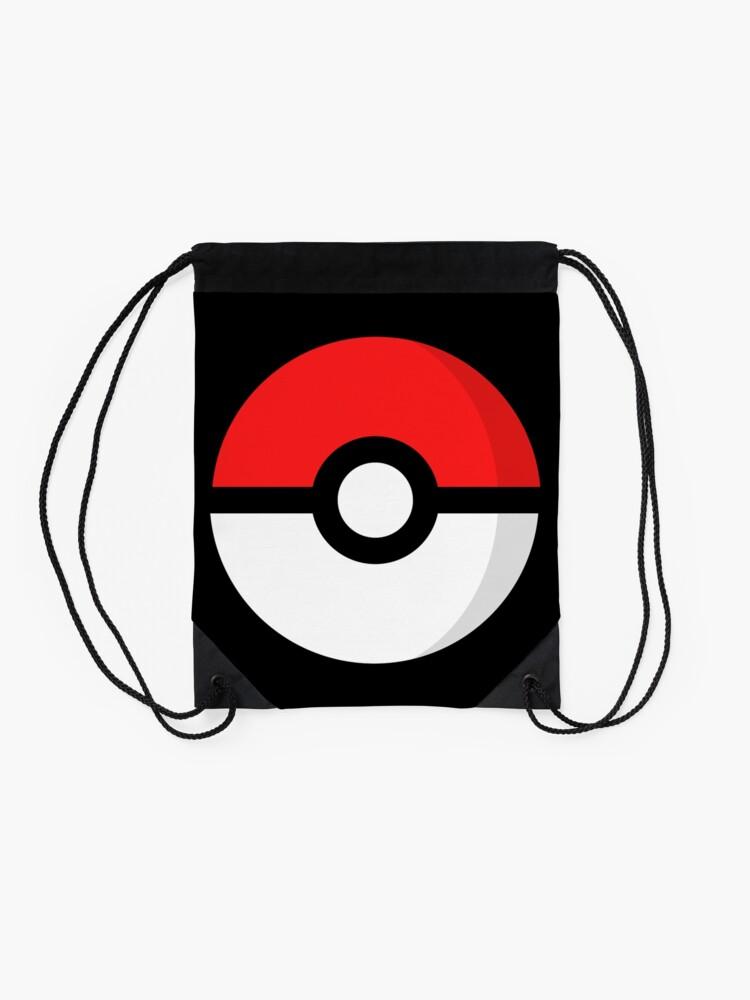 Vista alternativa de Mochila saco Pokémon - Pokébola