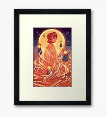Song of Fire Framed Print