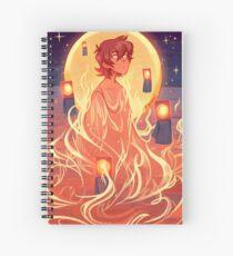 Song of Fire Spiral Notebook