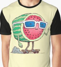 Watermelon Skater Graphic T-Shirt