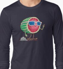 Watermelon Skater Long Sleeve T-Shirt