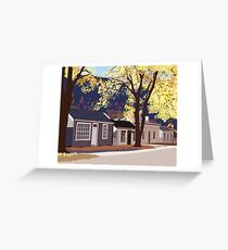 Historic Arrowtown in Autumn Greeting Card