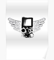 Winged Gameboy Poster
