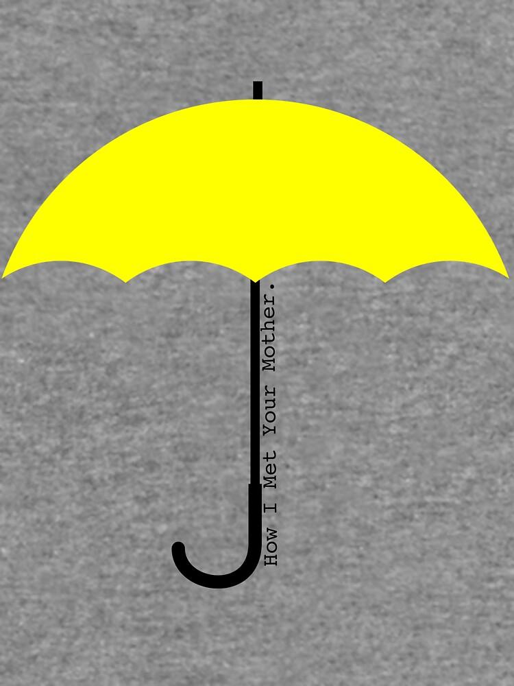 Paraguas amarillo: cómo conocí a tu madre de emmawoodnz