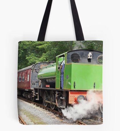 Old Railway Steam Tender Tote Bag