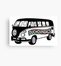 Duchovniacs Bus - David Duchovny Fan Squad Canvas Print