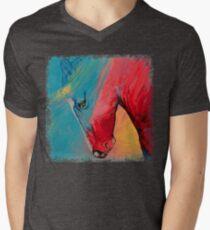 Painted Horse Men's V-Neck T-Shirt