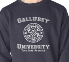 Gallifrey University Time Lord Academy white Pullover
