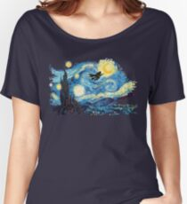 starry magic Women's Relaxed Fit T-Shirt