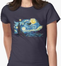 starry magic Women's Fitted T-Shirt