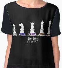 Human Chess Chiffon Top