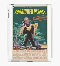 Forbidden Planet - 1956 Science Fiction Movie Poster iPad Case/Skin