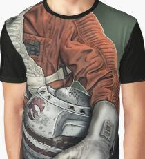Helmet Series: Luke Hoth Pilot Graphic T-Shirt