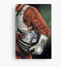 Helmet Series: Luke Hoth Pilot Canvas Print