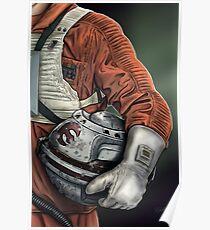 Helmet Series: Luke Hoth Pilot Poster