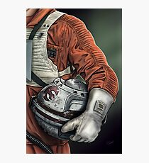 Helmet Series: Luke Hoth Pilot Photographic Print