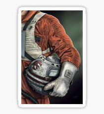 Helmet Series: Luke Hoth Pilot Sticker