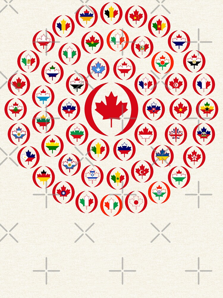 We Are Canada Multinational Patriot Collective 1.0 by carbonfibreme