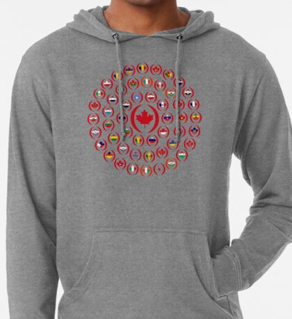 We Are Canada Multinational Patriot Collective 1.0 Lightweight Hoodie