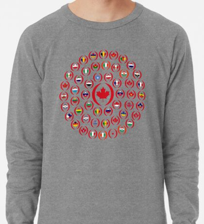 We Are Canada Multinational Patriot Collective 1.0 Lightweight Sweatshirt