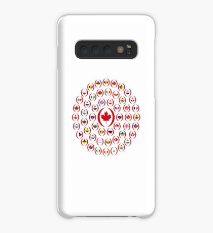 We Are Canada Multinational Patriot Collective 1.0 Case/Skin for Samsung Galaxy