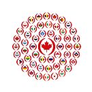 We Are Canada Multinational Patriot Collective 1.0 by Carbon-Fibre Media