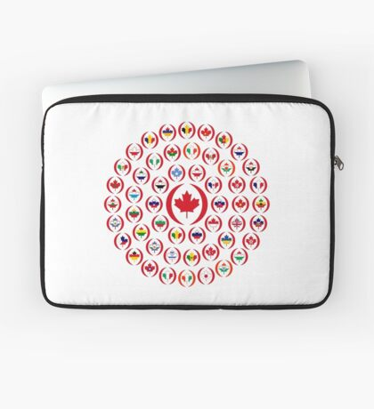 We Are Canada Multinational Patriot Collective 1.0 Laptop Sleeve