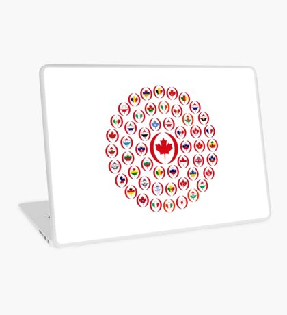 We Are Canada Multinational Patriot Collective 1.0 Laptop Skin