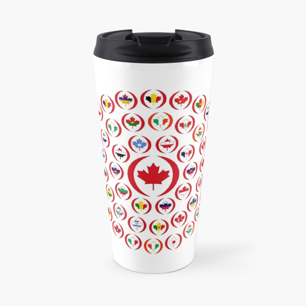 We Are Canada Multinational Patriot Collective 1.0 Travel Mug