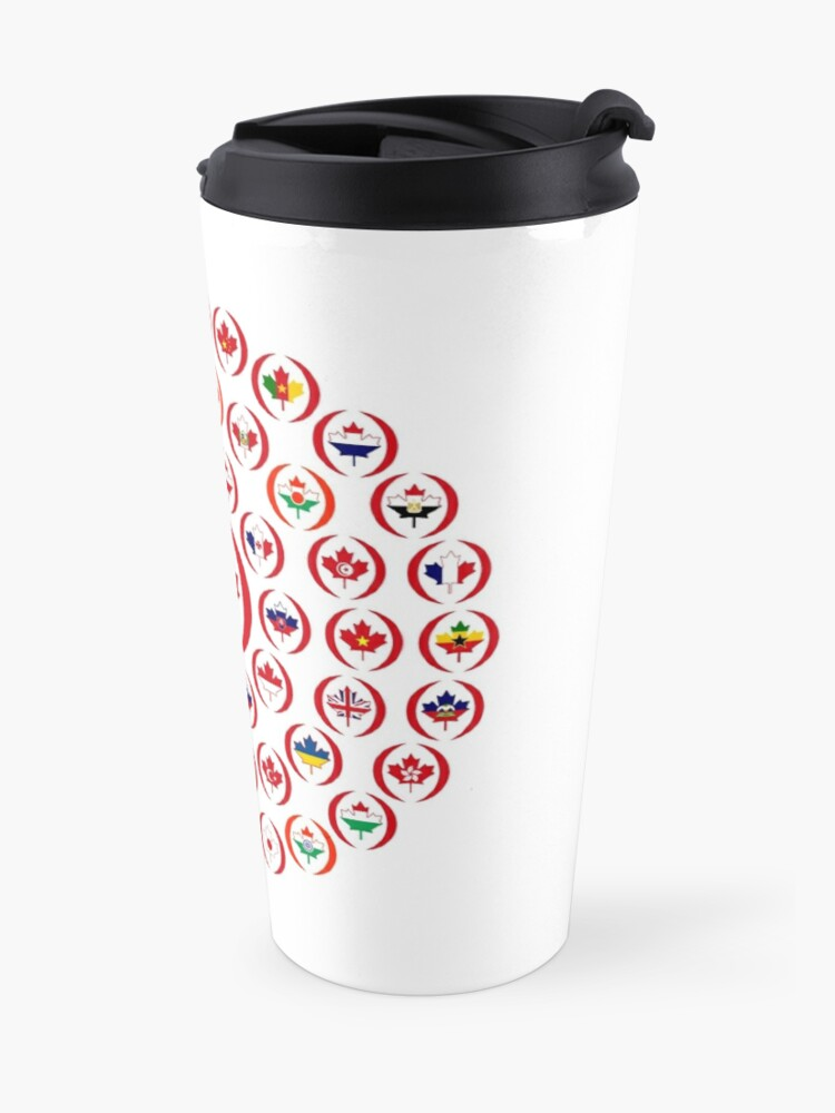 Alternate view of We Are Canada Multinational Patriot Collective 1.0 Travel Mug