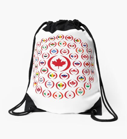 We Are Canada Multinational Patriot Collective 1.0 Drawstring Bag