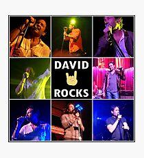 David Duchovny Rocks Photographic Print