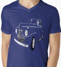 1941 Ford, Black on Black Men's V-Neck T-Shirt