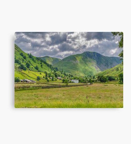 Hartsop Village Lake District Canvas Print