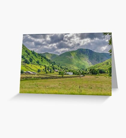 Hartsop Village Lake District Greeting Card
