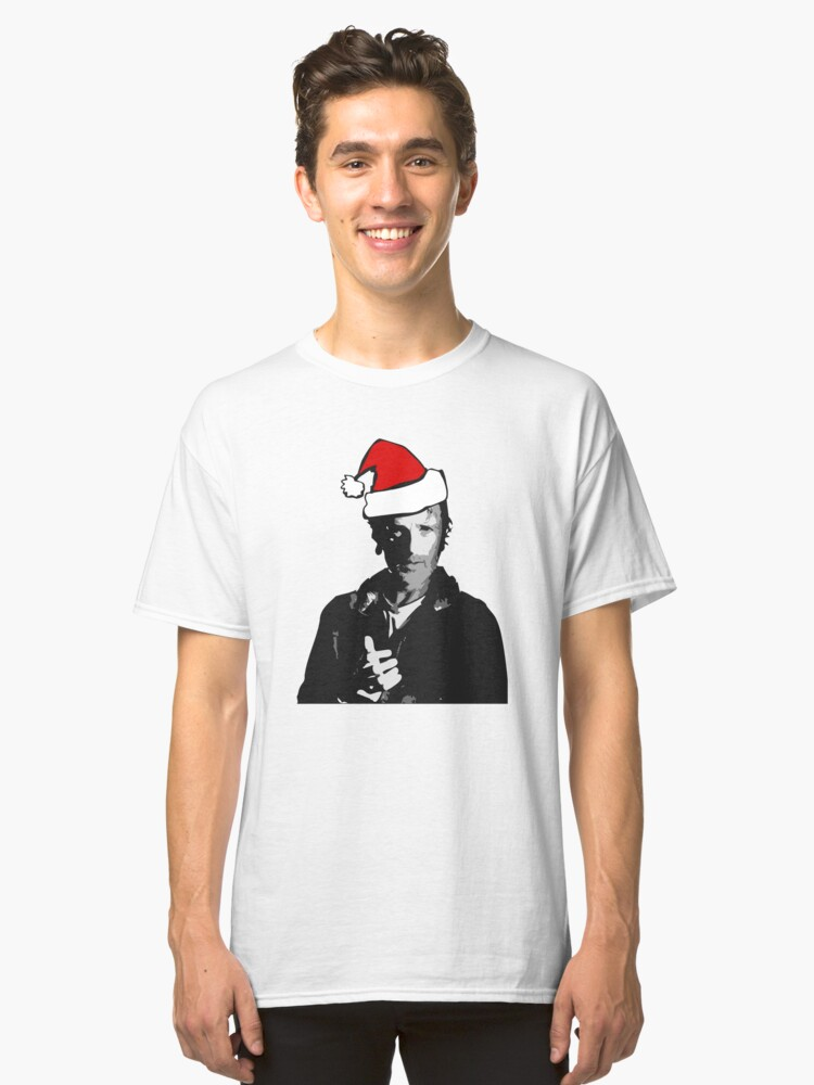 The Walking Dead - Rick Christmas Classic T-Shirt Front