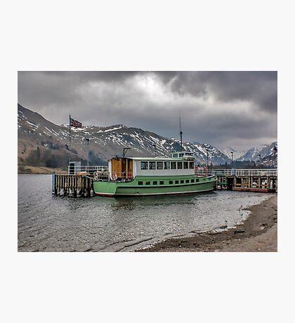 Tourist Boat at Glennridding Photographic Print
