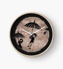 Baudelaire Umbrellas Clock