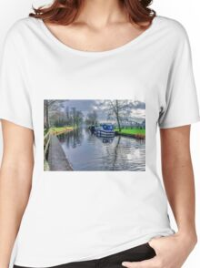 On The Canal Ripon Women's Relaxed Fit T-Shirt