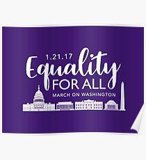 Women's March On Washington 2017 Poster